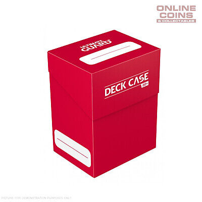 Deck Box Ultimate Guard Deck Case 80+ Standard Size RED