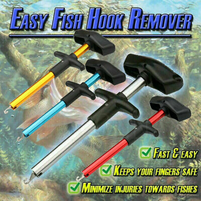 4-Color Easy Fish Hook Remover Fishing Tool Minimizing The Injuries Tools Tackle