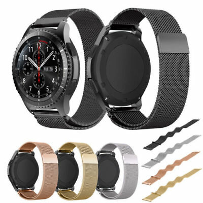 Milanese Magnetic Loop Watch Band Strap For Samsung Galaxy Watch SM-R810 42mm 46