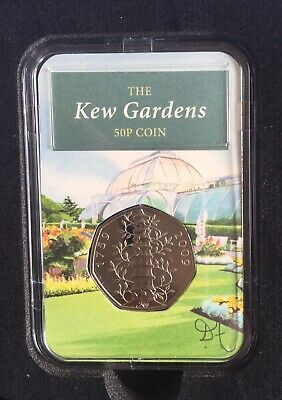 2019 Kew Gardens 50p Fifty Pence Coin BUNC Capsule Edition