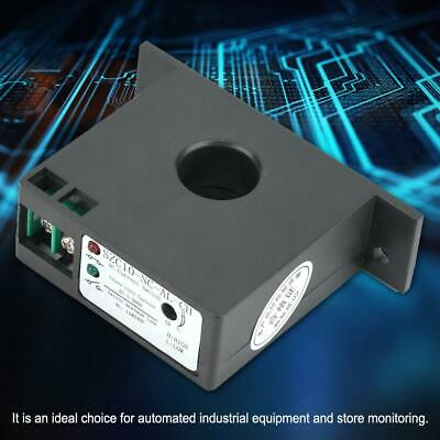 Self Supply Adjustable Normally Close AC Current Sensing Switch AC 1-200A 20mm