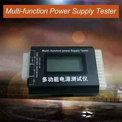 Digital LCD PC Computer PC Power Supply Tester 20/24 Pin SATA HDD Testers MT