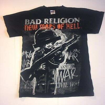 Bad Religion New Maps Of Hell Tour 2008 All Over Small Tshirt