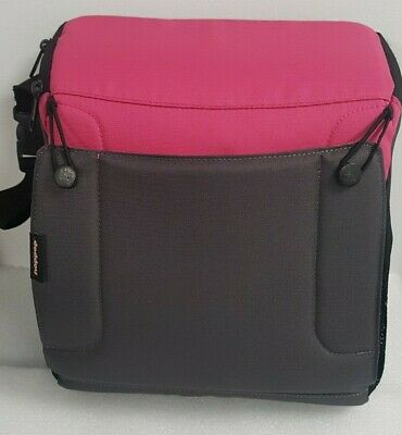 Hoppop Excellent condition TRAVEL BOOSTER SEAT Baby/Toddler/Child Bag Storage
