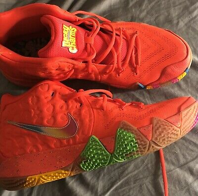 b5d0b7c59dfb KYRIE 4 IV Lucky Charms Size 12 new nike cereal pack basketball