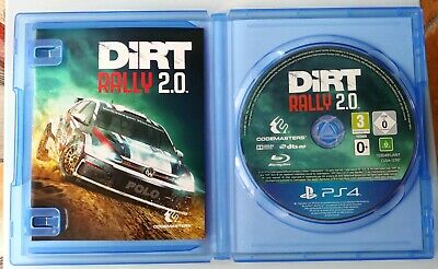 DiRT RALLY 2.0 PS4 Codemasters