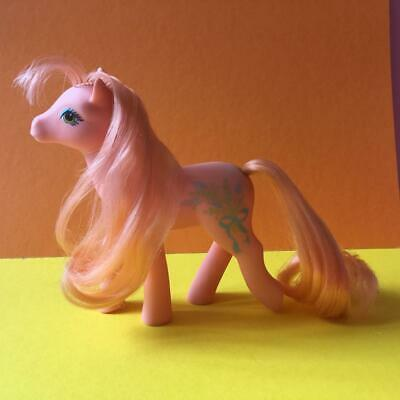 Vintage G1 My Little Pony Sweetheart Sister Wild Flower Toy Figure 1988 1980s