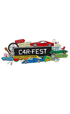 Carfest South 2019 Tickets - 2 x Adult + 1 x 0-5 Child Weekend Camping FV