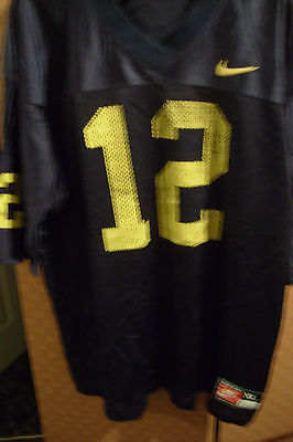 d54ac703f5e ROGER STAUBACH NAVY Jersey Yellow Sewn New - Any Size - $40.59 ...