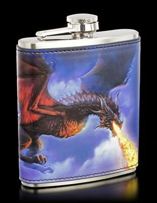 Frasco con Dragón - Fire From The Sky - James Ryman Botella Taza Taza