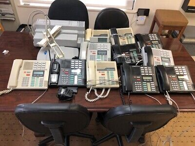 Norstar CICS KSU with a Call Pilot 100 Voice Mail with 11 phones