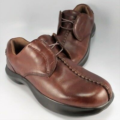 83bdb0224 Kalso Earth Shoes HERITAGE II Split-Toe Oxfords Womens Size 8M Sandstone  Leather