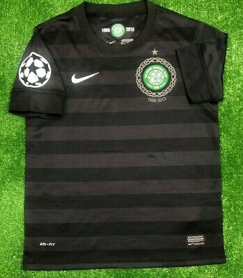 6d40e811838 Celtic Glasgow 2012/2013 Away Anniversary Football Soccer Jersey Nike Boys M