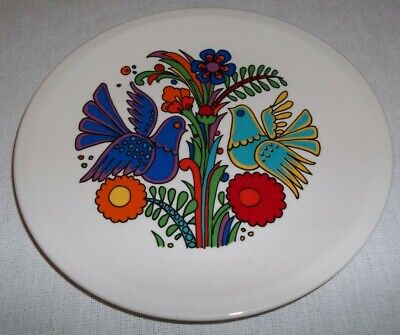 Villeroy & and Boch ACAPULCO side / bread plate centre pattern 15.5cm blue stamp