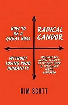 Radical Candor: How to Get What You Want by Saying ... | Buch | Zustand sehr gut