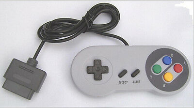 NEW 16 Bit Controller for Super Nintendo SNES System Console Control Pad ChBLTS