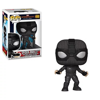 Funko POP! Marvel: Spider-Man Far From Home #469 - SPIDER-MAN (STEALTH SUIT)