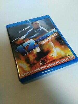 12 Rounds (Blu-ray Disc, 2009, Rated/Unrated )