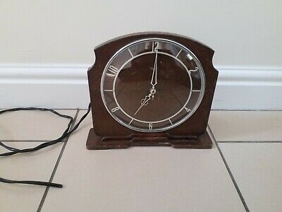 Vintage Smiths Sectric Mantle Clock. Needs Attention