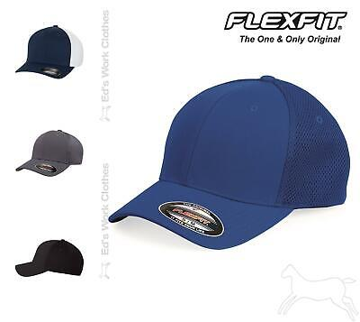 Flexfit Ultrafiber Mesh Cap Hat Structured, six-panel, mid-profile 6533 2 Sizes