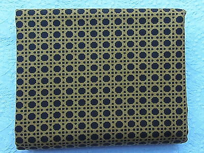 RARE & OOP Juliana Horner Rosette MUSTARD & BLACK WICKER *New & Hard to Find*