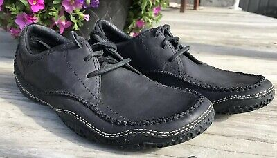 462c8c00 PATAGONIA Skywalk Black Cedar Casual Lace-Up Leather Shoes Mens Size 8