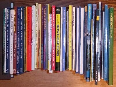 Large Lot #70 c.45 books England Britain Cornwall Devon Local booklets history