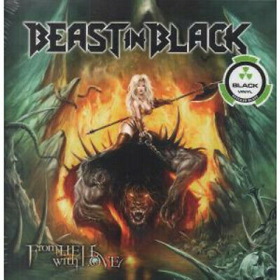 BEAST IN BLACK From Hell With Love DOUBLE LP VINYL 13 Track Double Black Vinyl