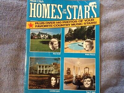 Nashville Vintage Music City's Homes Of The Stars 1977