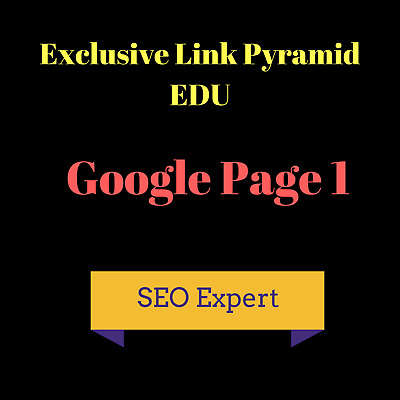 ✔ ✔ ✔✔ Rank First On Google With Massive Authority Edu Backlinks Pyramid ✔ ✔ ✔✔