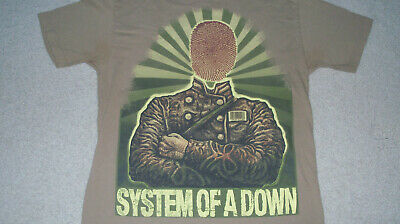 Heavy Metal SYSTEM OF A DOWN Physigraphy Shirt Size LARGE Rage Against Machine