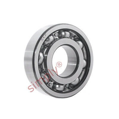 SKF 6205ETN9C4 Open Deep Groove Ball Bearing with Glass Fibre Cage 25x52x15mm