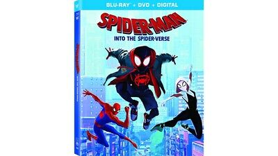 Spider-Man: Into The Spider-Verse (Blu-Ray/DVD, 2019, Canadian)