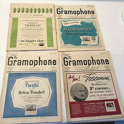 The Gramophone Magazine 1952 -1955 Pick One For $3.00