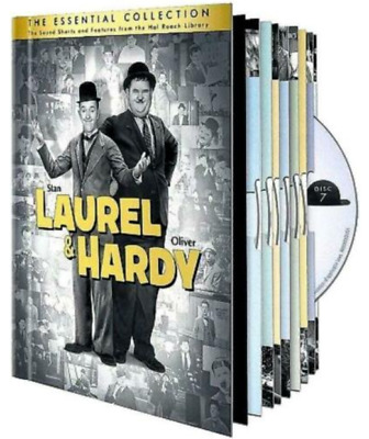 Laurel Hardy: The Essential Collection (DVD, 2011, 10-Disc Set) Sealed New!