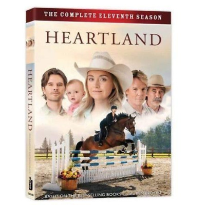 Heartland: The Complete Eleventh Season 11 (DVD, 2018, 5-Disc Set) Sealed New!