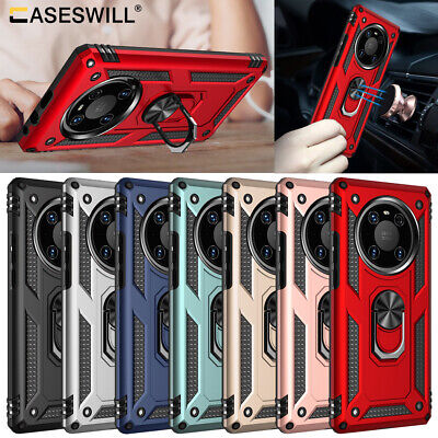 For Huawei P30 Pro P20 LITE P Smart 2019 Shockproof Case Ring Holder Stand Cover