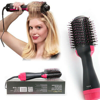 Revlon Pro Collection Salon One-Step Hair Dryer and Volumizer Comb Save BX