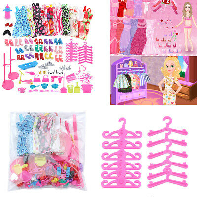10 Dolls Handmade Dresses Clothes Bundle Style Randomly Girl Birthday Gift AU