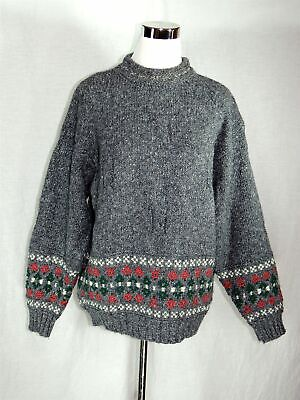 58fc5aaf262 VINTAGE UNITED COLORS of Benetton Gray Heavyweight Pullover Sweater ...
