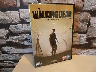 The Walking Dead - The Complete Fourth 4Th Season Dvd.fast/Free Post.