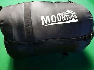 New Mountview Outdoor Camping sleeping bag thermal -20c blue