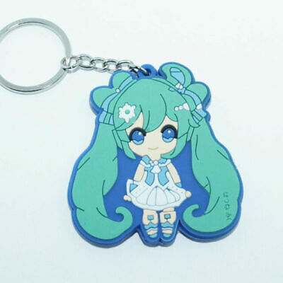 rubber key chain key ring soft silicone pendant gift`