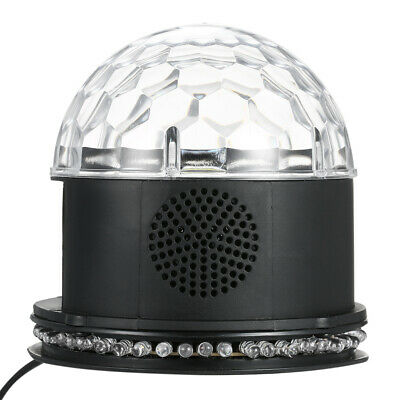 Disco Lights for Parties Sound Activated Strobe Light RGB LED Disco Ball X7B4