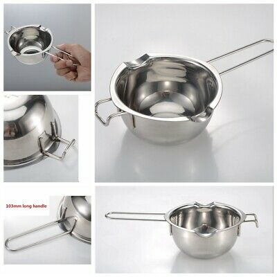 Stainless Steel Wax Melting Pot Double Boiler for DIY Wedding Scented Candle Hot