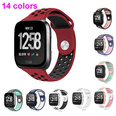 Hot Soft Silicone Bracelet Sport Watch Band Strap for Fitbit Versa Smart Watch