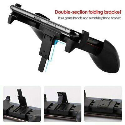 Phone Controller Gaming Joystick Handle Stand Grip Holder for PUBG Mobile Game J