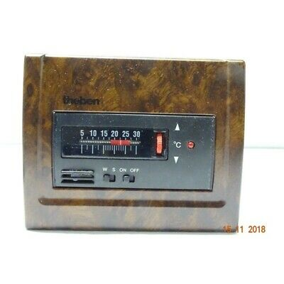 Theben Thermostat The 212/3P Couleur Ronce (DF2)