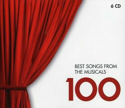 Various Artists - Best Songs from Musicals 100 / Various [New CD]