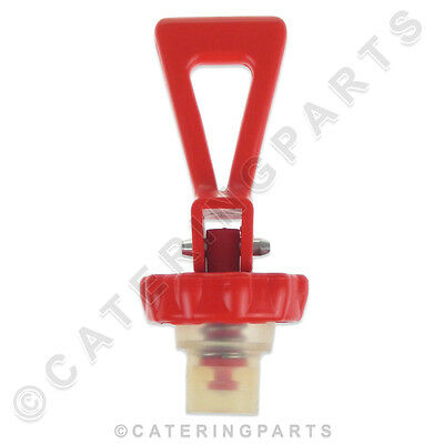 Ta25 Fuller Gas Hot Water Tea Boiler Draw Off Tap Top Plunger Assy Red Plastic
